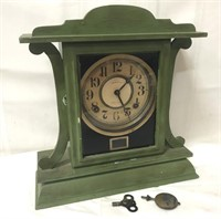 Ingraham Eight Day clock with key