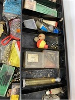 The Hamilton metal products tackle box and