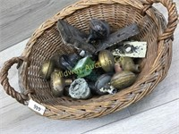 BASKET OF DOOR KNOBS