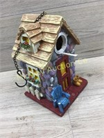COTTAGE HOME STYLE CERAMIC BIRDHOUSE