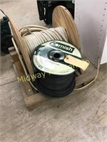 ROLL OF 12-2 WIRE/ ROLL OF YELLOW/GREEN MARKER WIR
