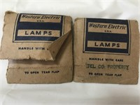 Western Electric lamps