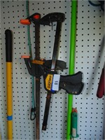 (2) Bar Clamps