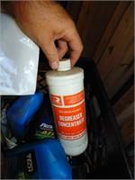 Motor Oil, Trans Fluid, Insect Killer