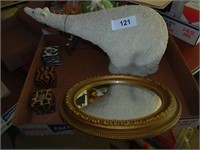 Polar Bear Decoration, Candles, (2) Mirrors