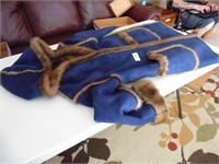 Dennis Basso Ladies (S) Faux Fur Lined Coat