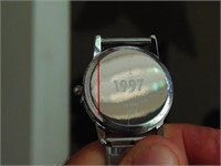 "Shell ""Moving at the Speed of Life"" Fossil Watch"