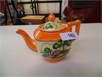 Teapot - Hand Painted - Made in Japan