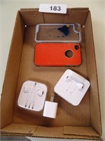 Apple Wired Earbuds, Phone Cases,