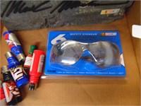 NASCAR Mark Martin Rock, Safety Glasses, Lighters