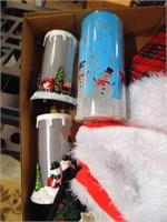 Christmas Tree Skirt, Material, Batt Candle