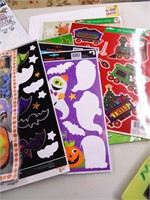 Children's Sticker Books & Holiday Window Clings