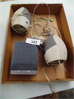 Computer Speakers + Deep Fryer