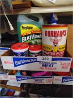 Bug Wash, Water Putty, Spackling, Cat Litter