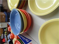 Fiestaware 6 pc Place Setting + Extras