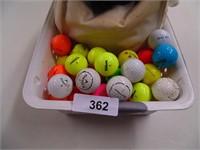 Golf Balls, Club Head Covers