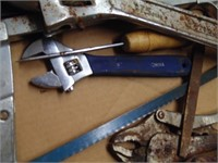 Assorted Tools -Pittsburgh 375mm Adjustable Wrench
