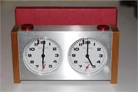 Vintage Heuer Chess Chess Clock Switzerland