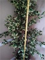 Decorative tall faux tree