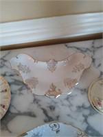 Victorian style misc glassware