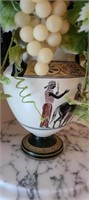 Beautiful Greece vase with faux graped