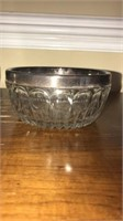 Set of 3 Silver Plated Salad Bowls
