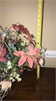 Gorgeous faux plant center piece