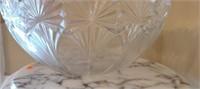 Mikasa Large crystal centerpiece bowl