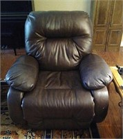 Leather like reclining chair