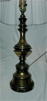 Pair of Brass Base Decorative Lamps