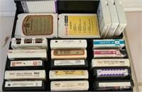 Estate lot of 8 track tapes