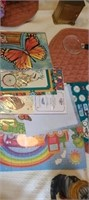 estate lot of decor and misc items