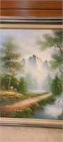 Gorgeous on canvas painting