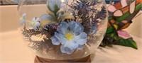 Beautiful in glass flowers