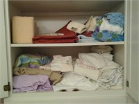 Lot of towel sheets and etc