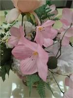 Colorful llams floral  decor