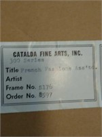 3 pair of catalda fine arts
