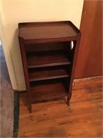 Cherry Telephone Stand/Bookshelf
