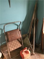 Step Stool, Lawn Tools, Gas Can