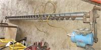 8 1/2ft Bin Auger w/1 1/2hp Doerr Electric Motor