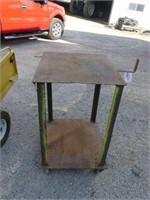 Rolling Welding Table (28 1/4in lx 24in w x37in