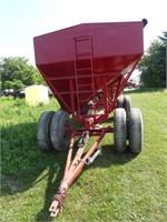 Rempel 400bu Gravity Bin on Dual Wheeled Wagon