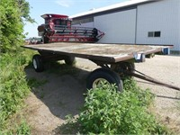 20ft x 8ft Flat Rack Wagon