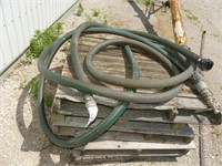Quantity of 2 inch Hose with Fittings