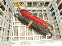2-New and 2-Used Springs for Wagon Tongues