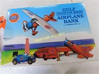 Gulf Airplane Bank - #1 - Die Cast Bank