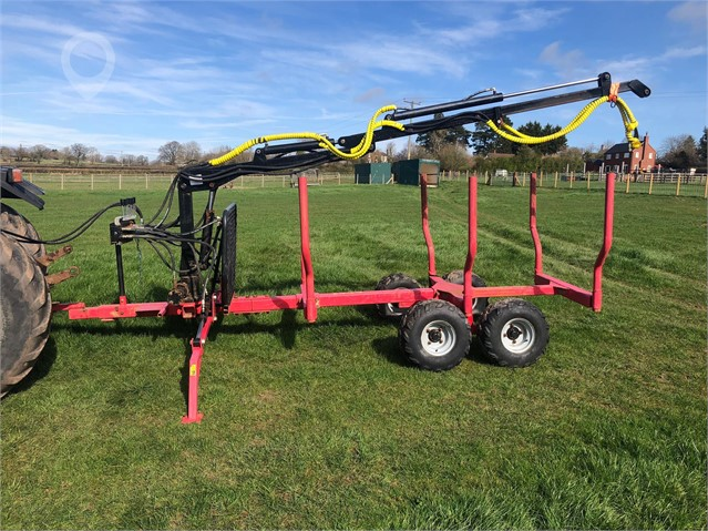 2018 SMALL LOG TRAILER at TruckLocator.ie