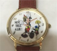 Disney Pinocchio watch in case