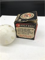 Antique Wiffle Ball with Box Paul Winchell Jerry