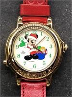 Disney Lorus Watch Mickey Mouse Santa